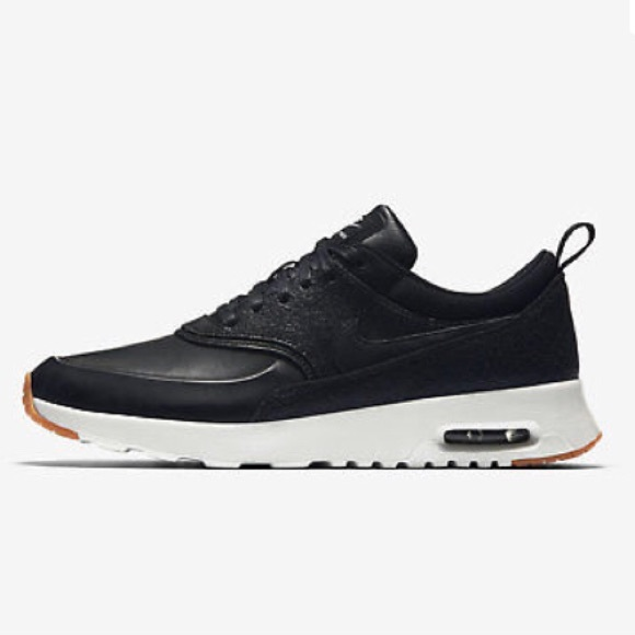 Nike Air Max Thea Premium Black Leather